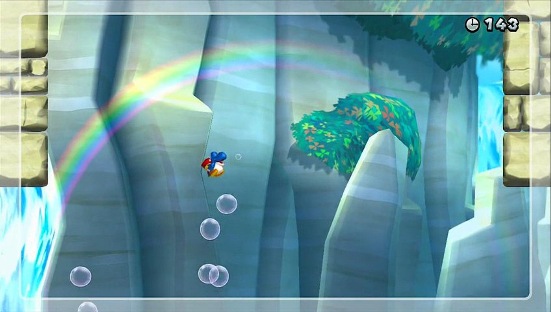 Super Mario Bros Wii U Défi [ en apesenteur ]