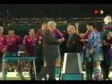 La finale de la Coupe des Coupes entre le PSG et le FC Barcelone en 1997