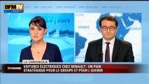 Chronique éco d'Emmanuel Duteil - Voitures électriques chez Renault: un pari stratégique - 15/03