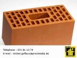 Matériaux de construction gros oeuvre Hainaut 6220