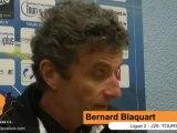 (J29) TOURS 1-1 LAVAL, réaction de B. Blaquart