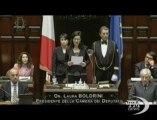 Boldrini: pensare a chi non ha lavoro e agli esodati - VideoDoc. La neo presidente Camera: ma anche agli imprenditori schiacciati