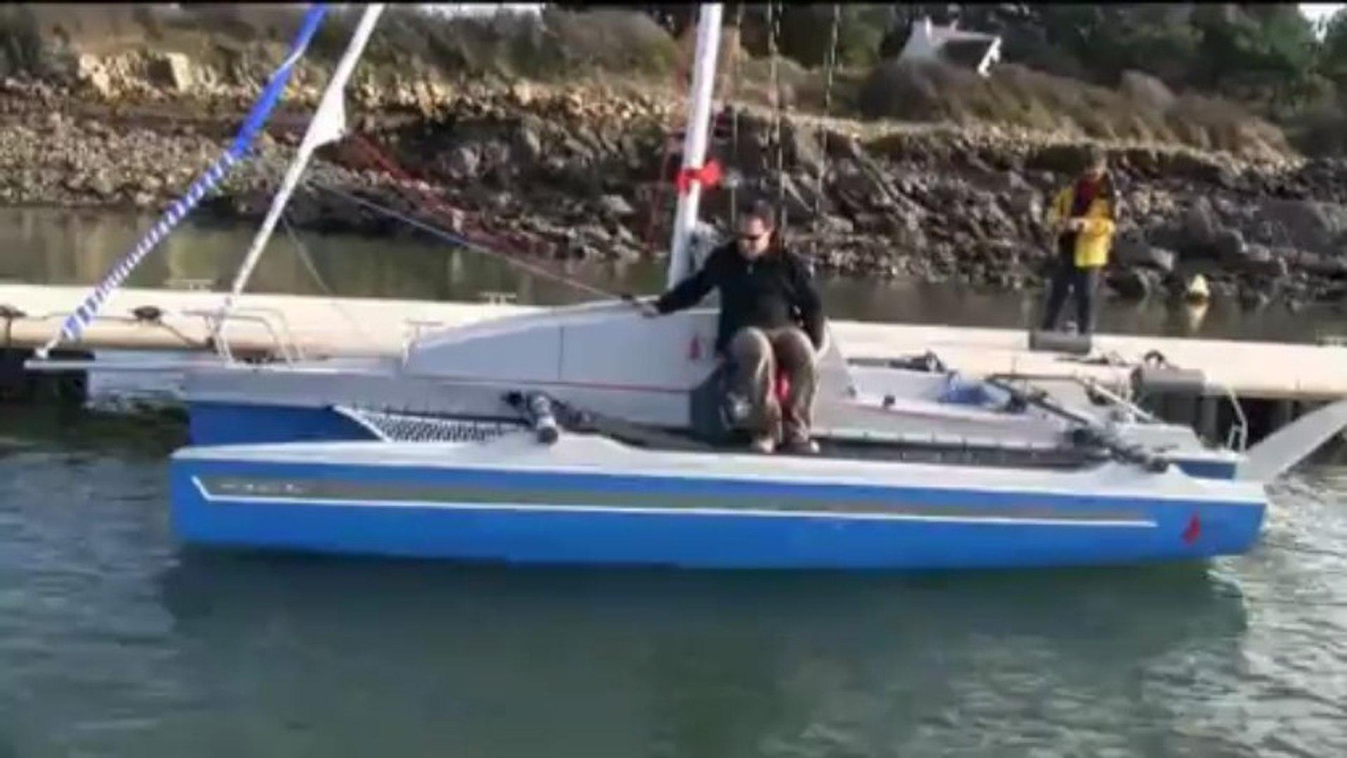 Astus 20.2 XL ouverture des flotteurs sur l'eau