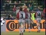 1999 (March 3) Bayern Munich (Germany) 2-Kaiserslautern (Germany) 0 (Champions League)