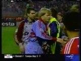 1999 (March 17) Kaiserslautern (Germany) 0-Bayern Munich (Germany) 4 (Champions League)