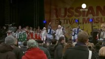 London celebrates spring Russian style
