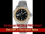 [BEST BUY] TAG Heuer Men's WAJ2150.BA0870 Aquaracer Black Dial Watch
