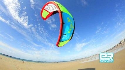 Cours de kitesurf-Ecole Easy Ride-La maitrise de l'aile de kitesurf-Bretagne-saint-malo