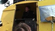 David Hasselhoff à Berlin pour protéger les restes du Mur