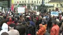 Hongrie: 4.000 manifestants contre le Premier ministre
