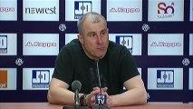 Conférence de presse Toulouse FC - Girondins de Bordeaux : Alain  CASANOVA (TFC) - Francis GILLOT (FCGB) - saison 2012/2013