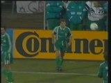 1996 (April 3) Ajax Amsterdam (Holland) 0-Panathinaikos (Greece) 1 (Champions League)