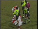 1996 (March 20) Ajax Amsterdam (Holland) 1-Borussia Dortmund (Germany) 0 (Champions League)
