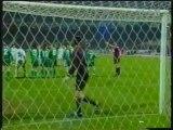 1996 (March 20) Panathinaikos (Greece) 3-Legia Warszawa (Poland) 0 (Champions League)