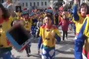 Krize rağmen ''masal gibi'' karnaval