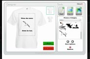 "Tuto personnalise ton tee-shirt avec notre ""T-shirt Designer"" sur tonteeshirt.com"