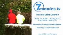Trail du Saint-Quentin - Entrainement
