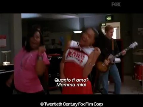 GLEE 2x04 - River deep / Mountain high (Ike & Tina Turner)