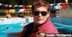 David Hasselhoff Fights for Berlin Wall