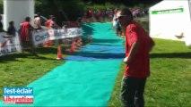 Sprint du triathlon des lacs : réactions des vainqueurs de l'épreuve courte distance