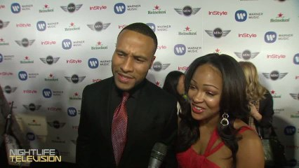 Watch Meagan Good, Sean Paul, FloRida, and more party & discuss their favorite moments at this years Grammy Awards