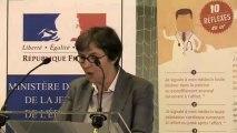 """Lancement de l'opération """"10 réflexes en or"""" - Intervention de Valérie Fourneyron"""