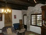 PN2554  Achat maison Tarn.  Cordes sur Ciel, habitation  en pierre  restaurée de 280 m² de SH, 5 chambres,  jardin 500 m².