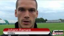 Le retour à l'entraînement du Stade de Reims de Johann Ramaré