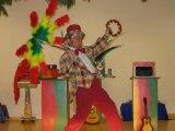 clown magicien spectacle pour enfant  chateau gonthier monsieur tempo