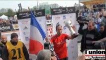 Yohann Diniz marche sur le toit du monde