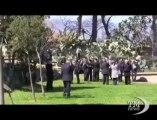 La Sicilia rende omaggio alle vittime della mafia. Cerimonia con il sindaco di Palermo nel Giardino della memoria