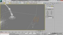3ds Studio Max - 143 Binding particles to a gravitational force