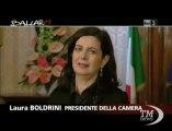 Boldrini e Grasso a Ballarò: ci tagliamo gli stipendi - VideoDoc. I presidenti delle Camere: meno soldi e più ore di lavoro