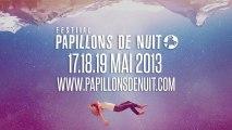 Programmation 2013 - Festival Papillons de Nuit