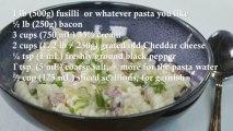 Bacon, Cheddar Macaroni and Cheese Recipe