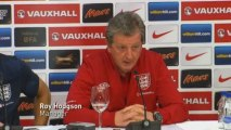 Hodgson: Mood in England camp good ahead of Montenegro game