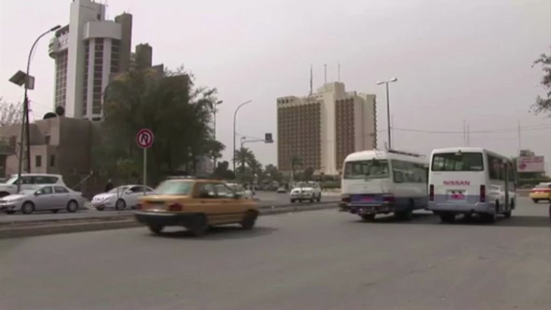 فندق فلسطين في بغداد يكتسي حلة جديدة