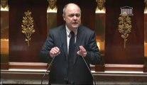 Réponse de Bruno Le Roux à la motion de censure de l'UMP