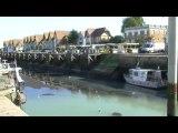 Normandie , Courseulles sur Mer , Autour du port 02