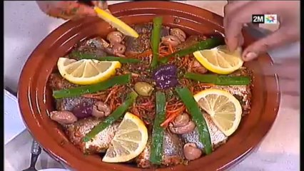 Recette De Tajine De Poisson, Merlan à La Marocaine