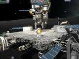 voyage pour la lune avec une énorme station mobile et retour ( space trip to the moon  with a huge rover station ) KSP 0.19.1