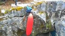Test nouveau canoe gonflable PALAVA 400 Gumotex et kayak SOLAR 410 GUMOTEX sur la Valserine
