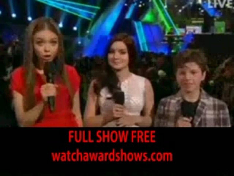 #Music Kids Choice Awards 2013