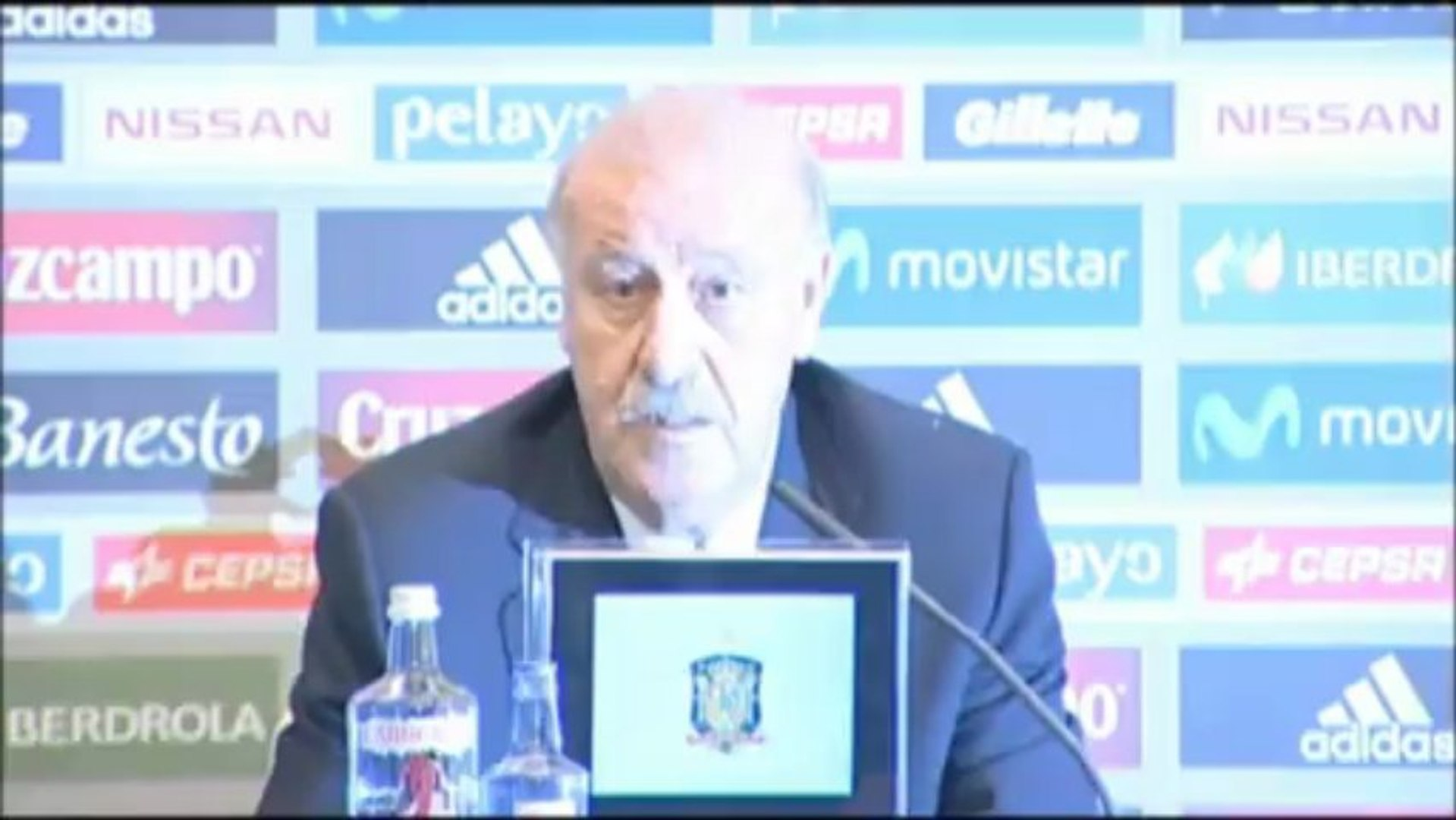 Del Bosque focused on Finland