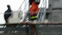 Simulateur feux de navires de Marck : les pompiers confrontés à l'extrême