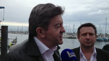 """Jean-Luc Mélenchon à Arcachon : """"l'avenir économique de la France passe par la mer"""""""