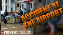 BREAKING:  300 lb Airport Screen Falls On 4 Kids; Serious Injuries Reported | NewsBreaker | OraTV