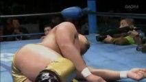 04. Yoshinobu Kanemaru (c) vs Kaz Hayashi - (AJPW 03/17/13)
