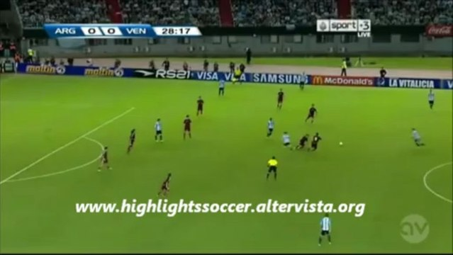 Argentina-Venezuela 3-0 Highlights All Goals