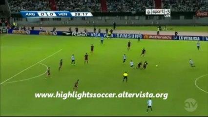 Argentina-Venezuela 3-0 Highlights All Goals